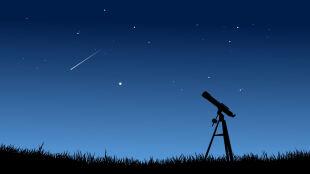 Niebo roiło się od spadających gwiazd. Do 60 meteorów na godzinę