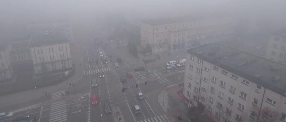 Gęsta mgła może zasnuć część kraju. </br>Prognoza pogodowych zagrożeń IMGW