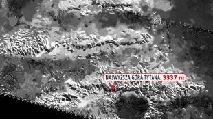 Odkryli najwyższy szczyt Tytana. Porównują go do Everestu
