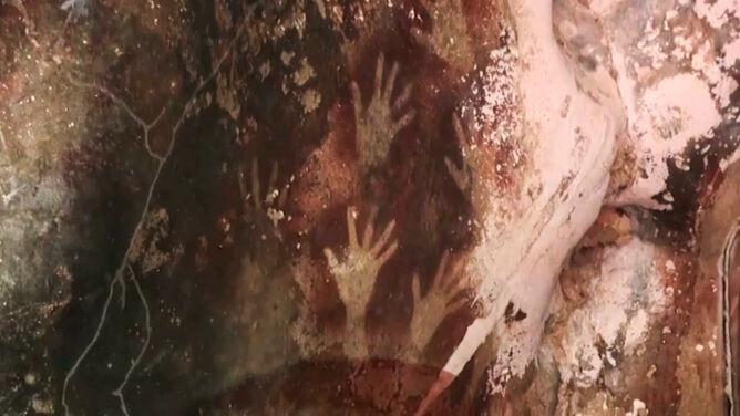 Najstarsze na świecie malowidła naskalne znikają. Powodem zmiany klimatu