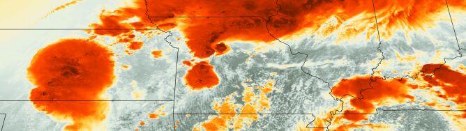Tak wygląda burza z kosmosu