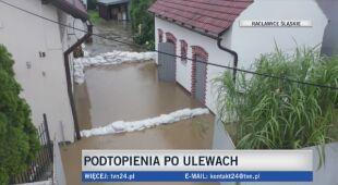 Podtopienia w Racławicach Śląskich