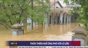 Skutki ulewnych opadów deszczu w Wietnamie